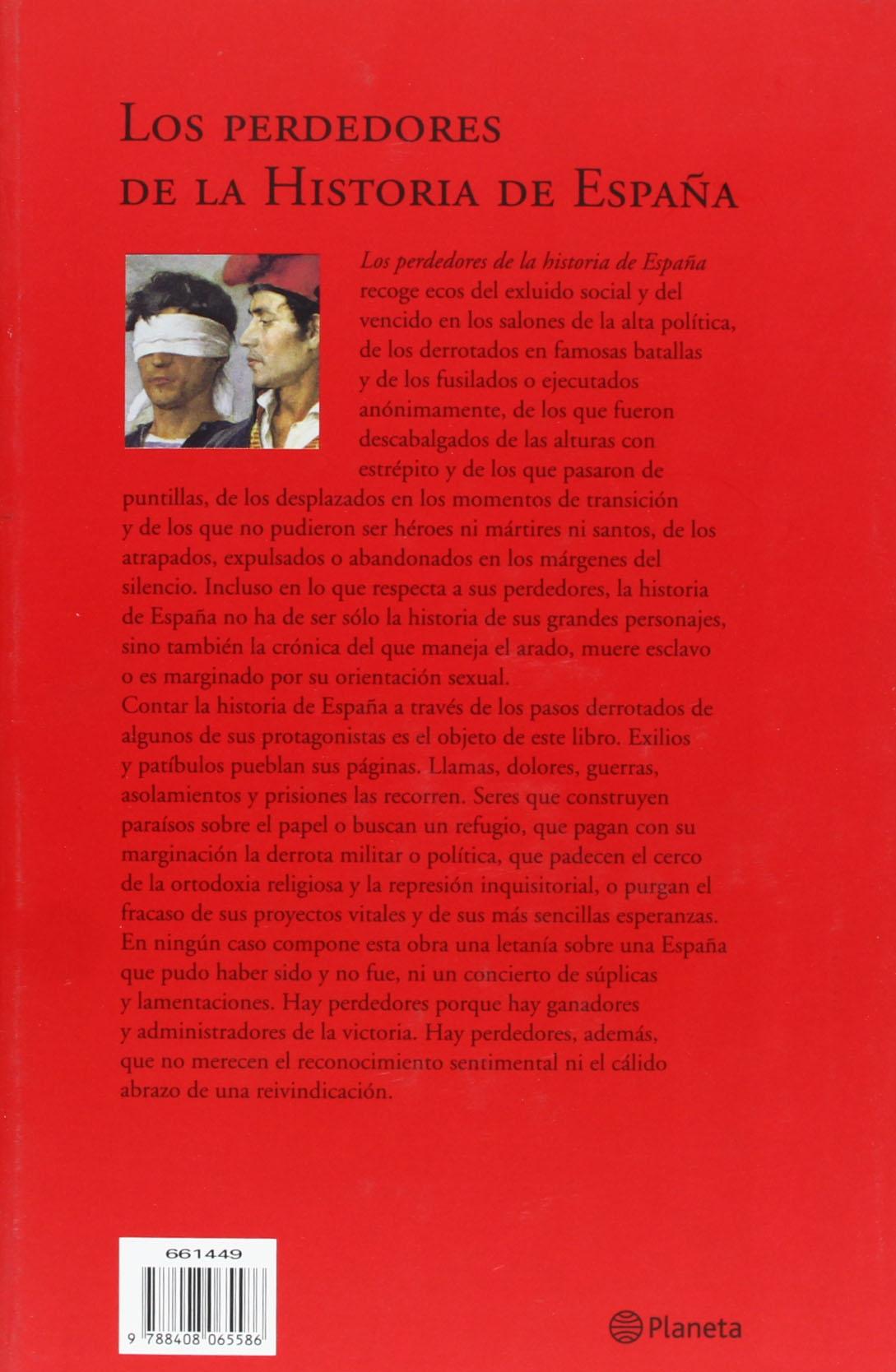 Los perdedores de la historia de España Historia y Sociedad: Amazon.es: García de Cortázar, Fernando: Libros