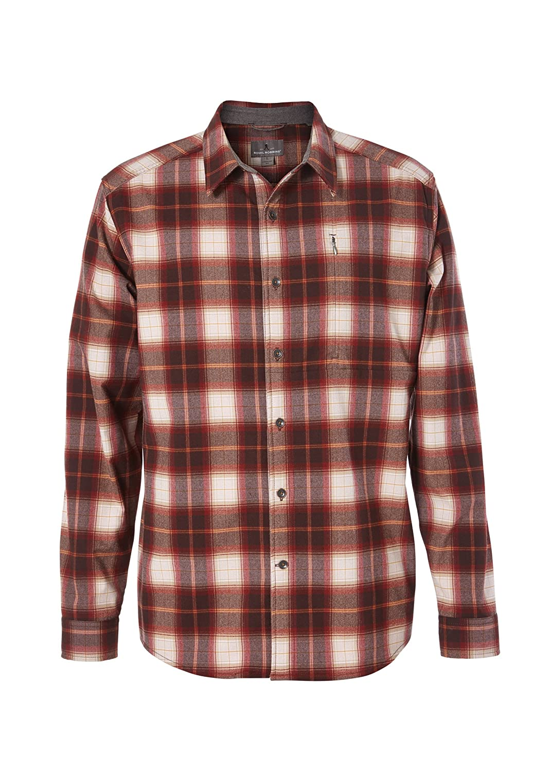 Royal Robbins Herren Merinolux Flannel Long Sleeve Oberteil