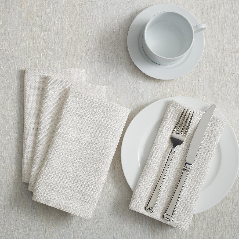 Benson Mills Textured Fabric Tablecloth 60 x 120 Rectangular, Topaz