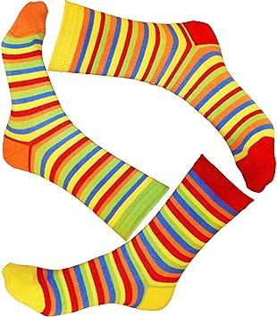Loonysocks, 3 Pares de Calcetines de algodón de Colores para Mujer ...
