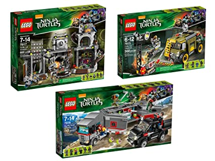 Amazon.com: LEGO teenage mutant ninja turtles Collection ...