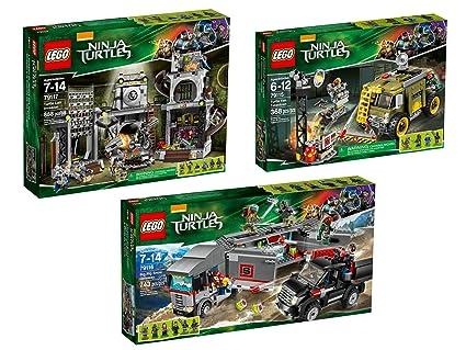 Amazon.com: LEGO Teenage Mutant Ninja Turtles Collection ...