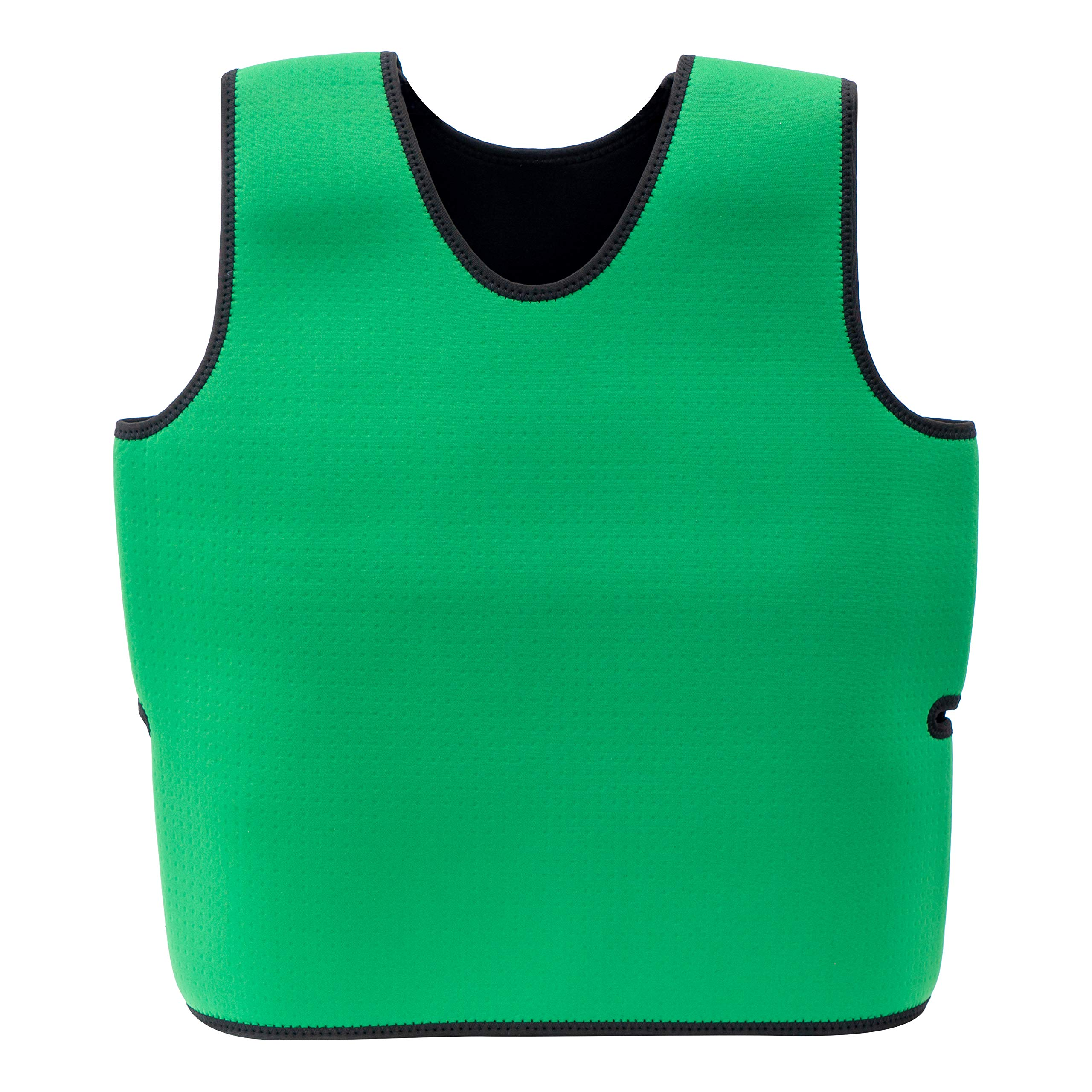 Special Supplies Sensory Compression Vest Deep Pressure Comfort for Autism, Hyperactivity, Mood Processing Disorders, Breathable, Form-Fitting, Kids and Adults (Green, Small 17x30 inches)