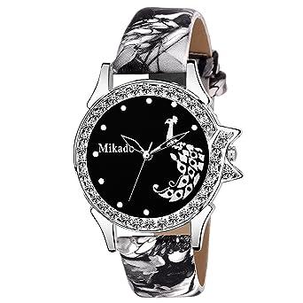 d3ba9ecac Mikado Stylish Sophia Black Analogue Watch For Girls And Women  Amazon.in   Watches