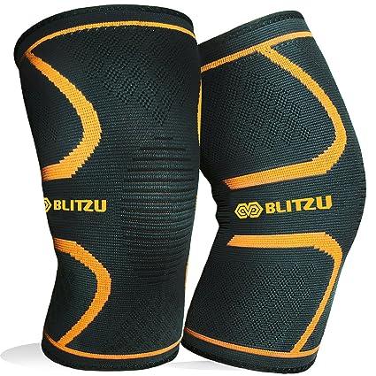 Amazon blitzu flex plus compression knee brace for joint pain blitzu flex plus compression knee brace for joint pain meniscus tear acl mcl solutioingenieria Choice Image