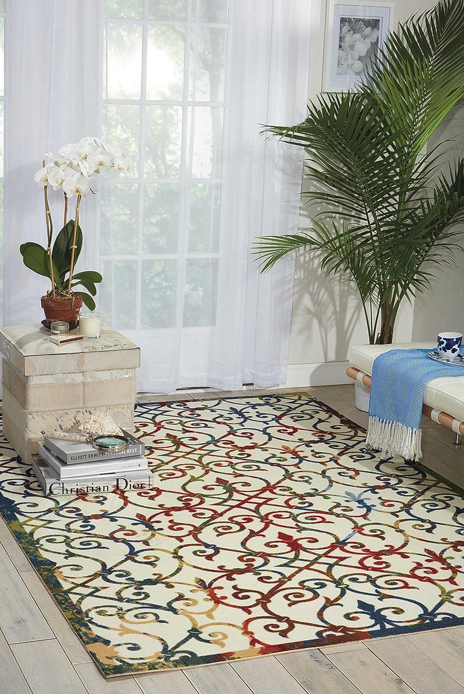 Nourison Home & Garden Indoor/Outdoor Area Rug, 5'3