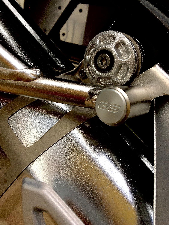 TAPPI TELAIO GS R1200 LC ADV 2014-2018 COLORE NERO E ALLUMINIO