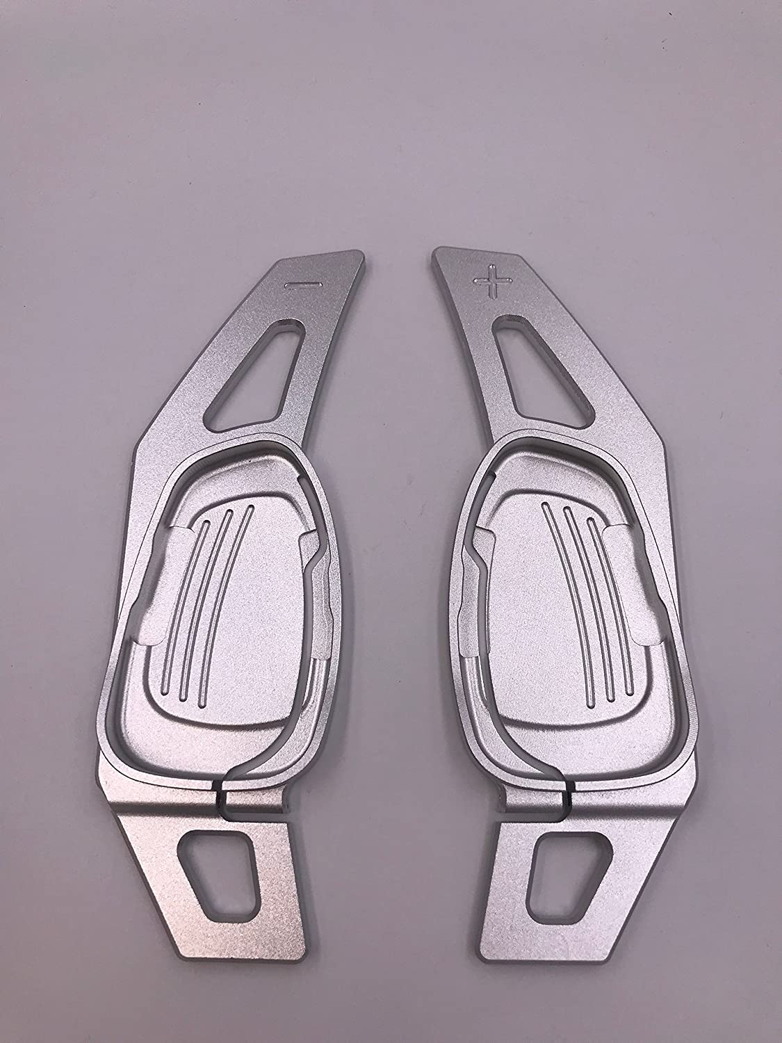 H-Customs S-Tronic Schaltwippen Shift Paddle Verl/ängerung RS A5 S3 S5 S6 SQ5 RS3 RS6 RS7 2015-2017 Silber
