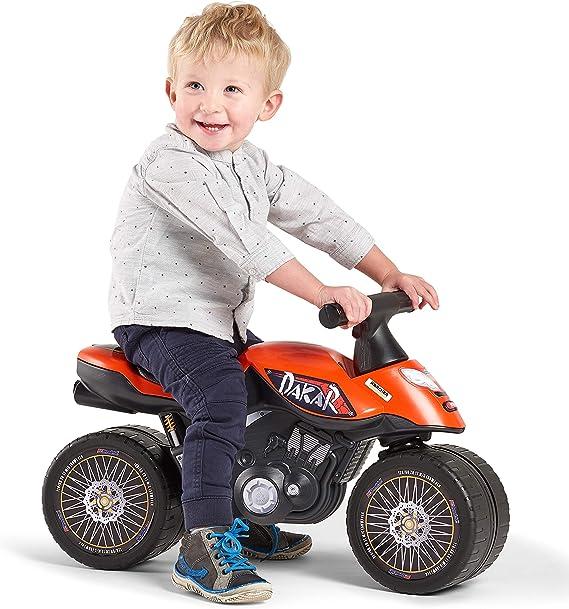 Color Naranja Talla /única 406D Falk- Draisienne Baby Moto Dakar Moto /& Quads