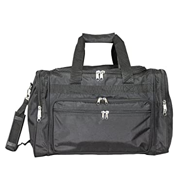 World Traveler Solid Duffel Bag Black One Size 6cddc71a0e532