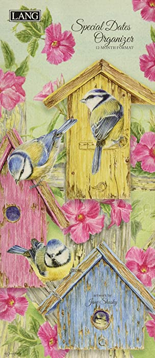 LANG Birds in The Garden Special Dates Organizer (1370001)