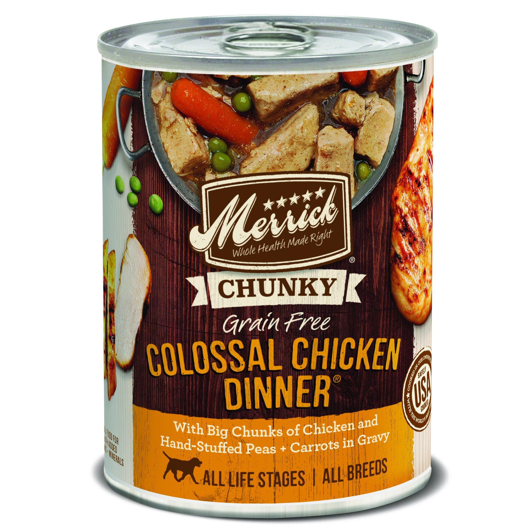 Merrick 12 Count Chunky Colossal Chicken Dinner by Merrick
