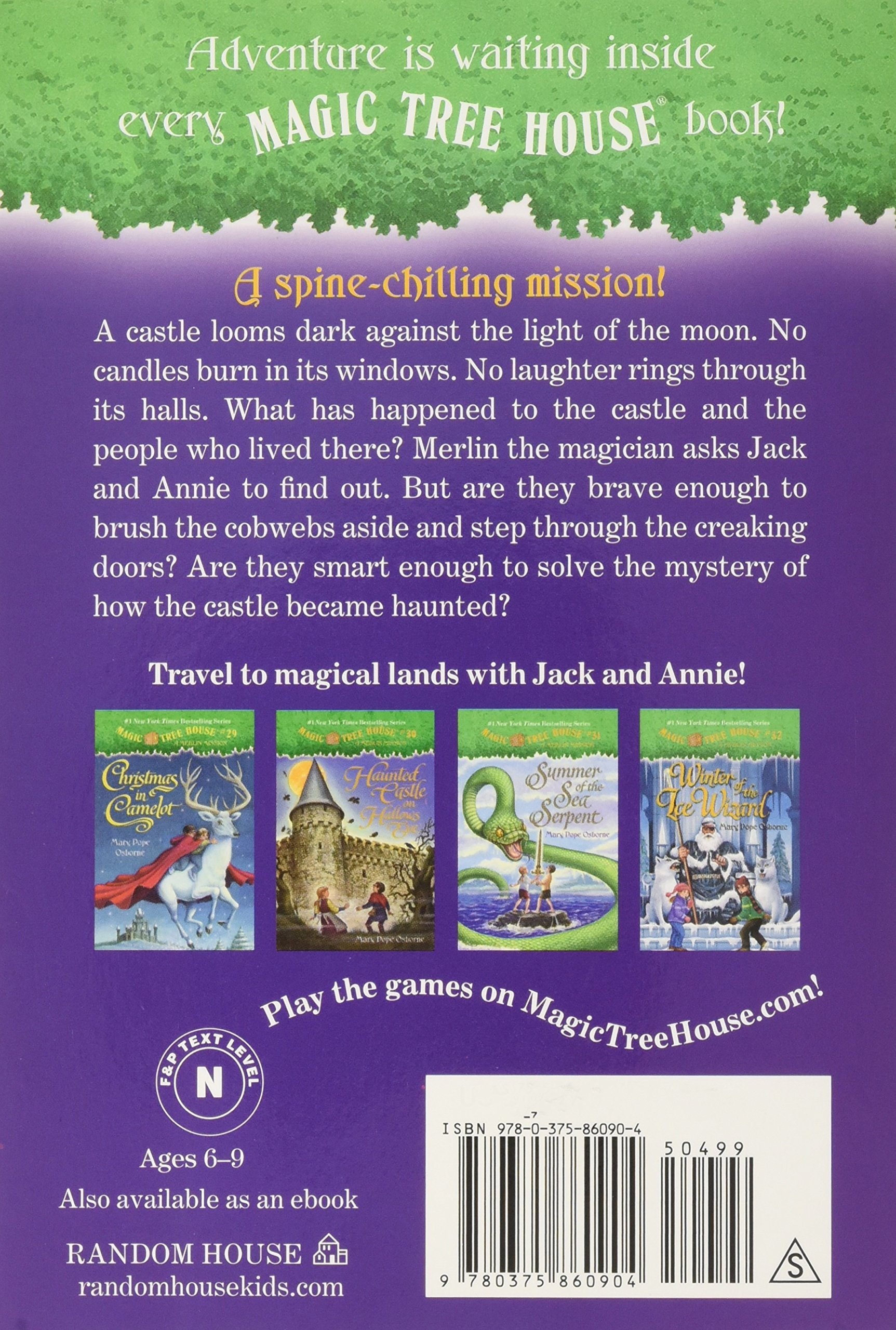 Amazon: Haunted Castle On Hallows Eve (9780375860904): Mary Pope  Osborne, Sal Murdocca: Books