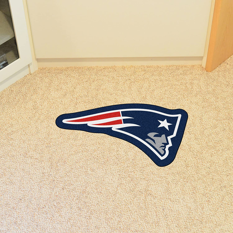 New England Patriots Mascot Mat FANMATS 20978 Team Color 3 x 4 NFL