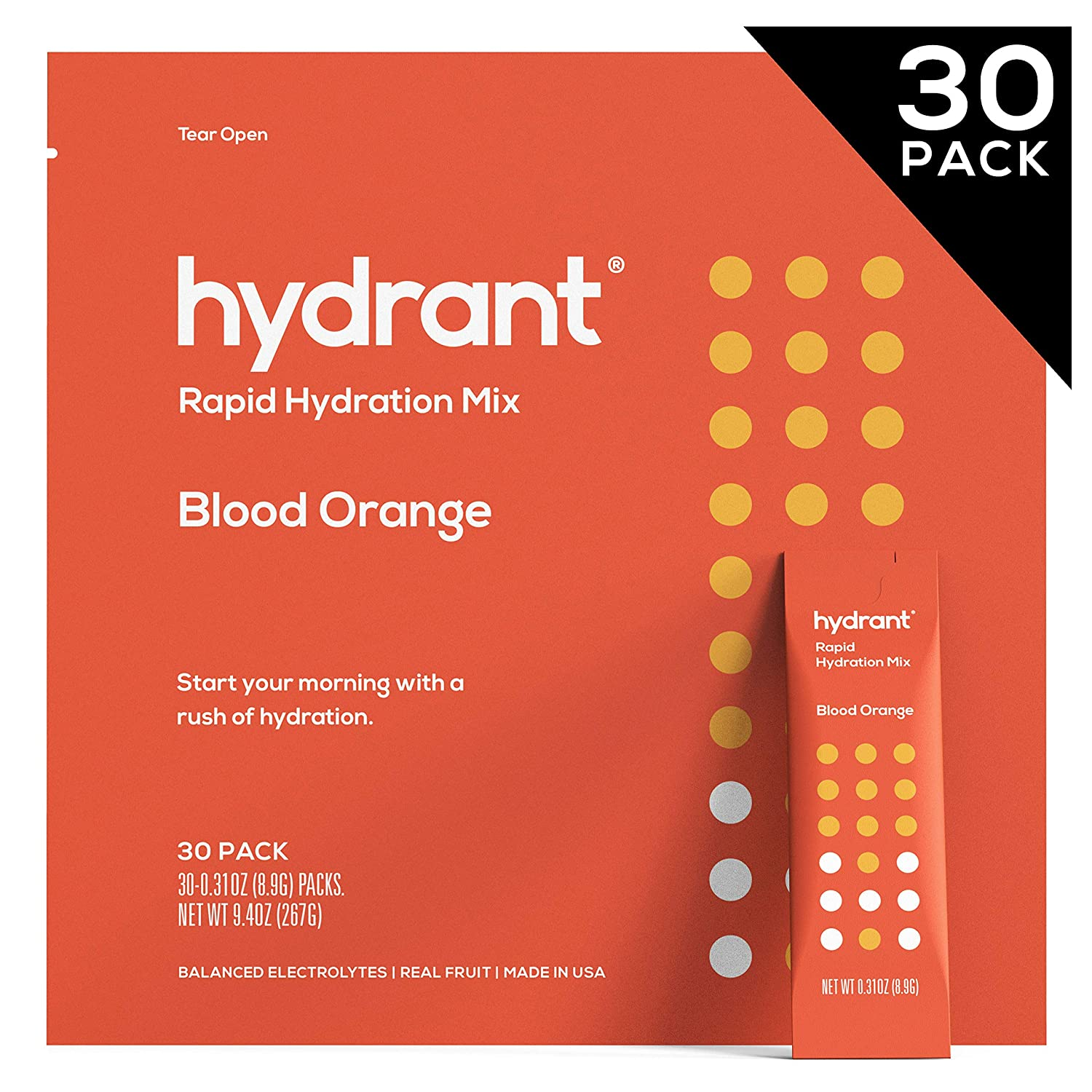 Amazon.com: Hydrant Blood Orange Rapid Hydration Drink Mix ...
