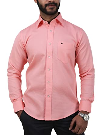 ef18d3a474 KARLSBURG Men s Semi-Formal Shirt  Amazon.in  Clothing   Accessories