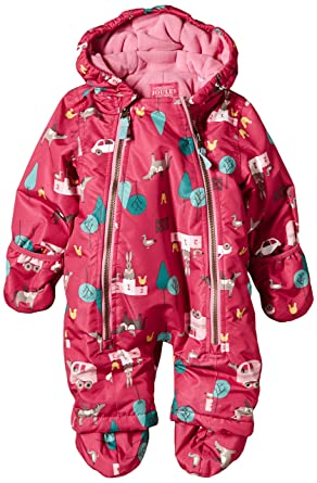 64975f6f7 Joules Baby-Girls Everly Floral Snowsuit