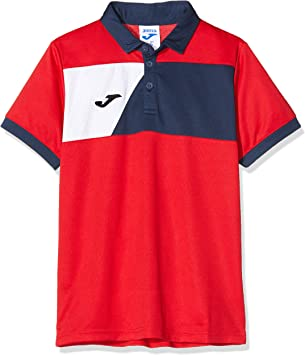 Joma Polo Crew II, Color Rojo/Azul Marino: Amazon.es: Deportes y ...