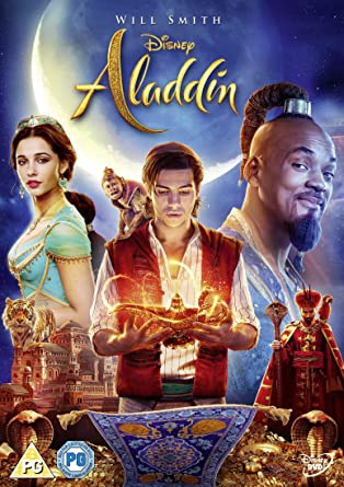 Aladdin Live Action 2019 [DVD]: Amazon co uk: Will Smith