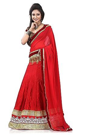 e259bb653 Amazon.com: Stylo Sarees Indian Fancy Wedding Ethnic Wear Bollywood Lehenga  Choli Free Size: Clothing