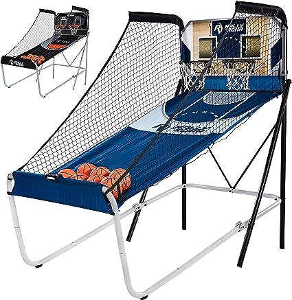 Juego de baloncesto con doble canasta y sistema electrónico de ...