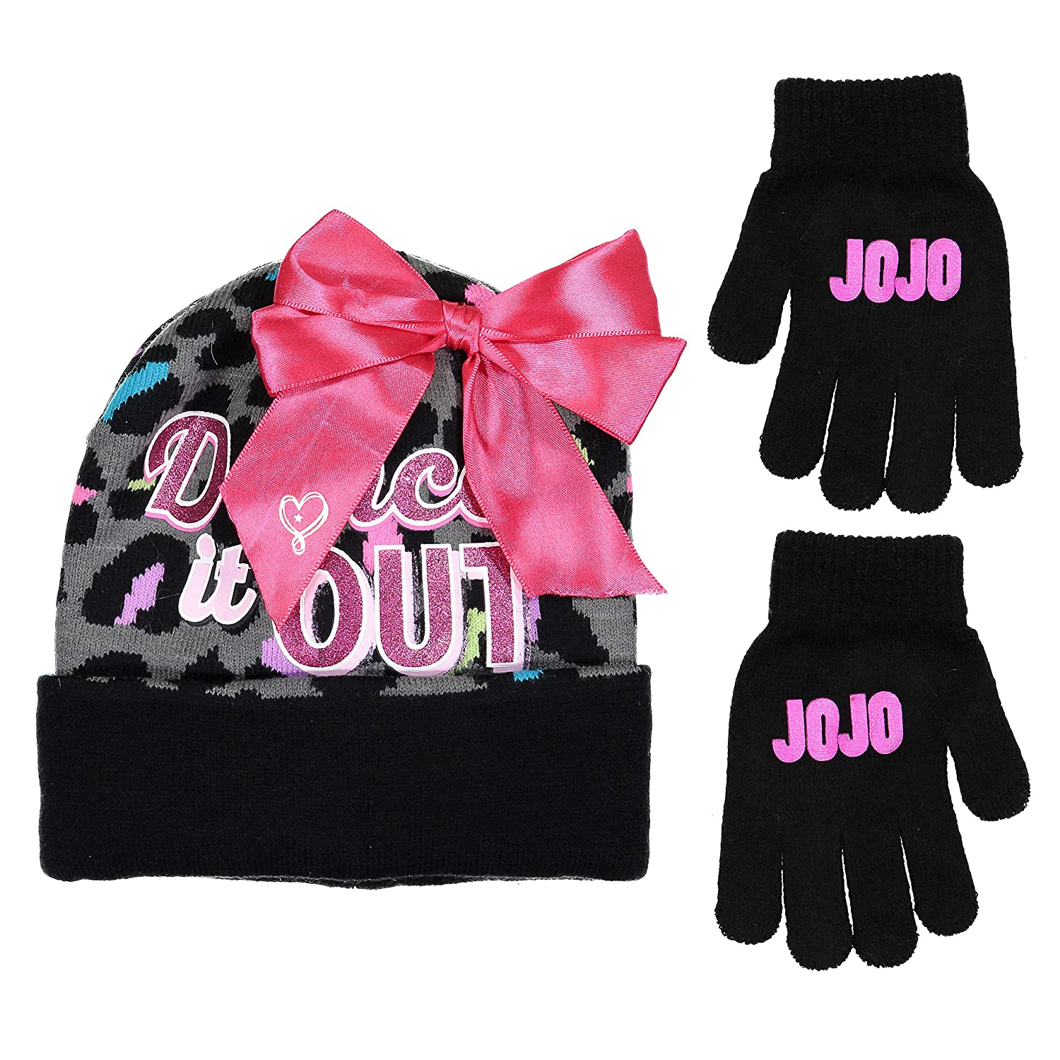 Nickelodeon JoJo Swia Dance It Out Winter Hat and Glove Set