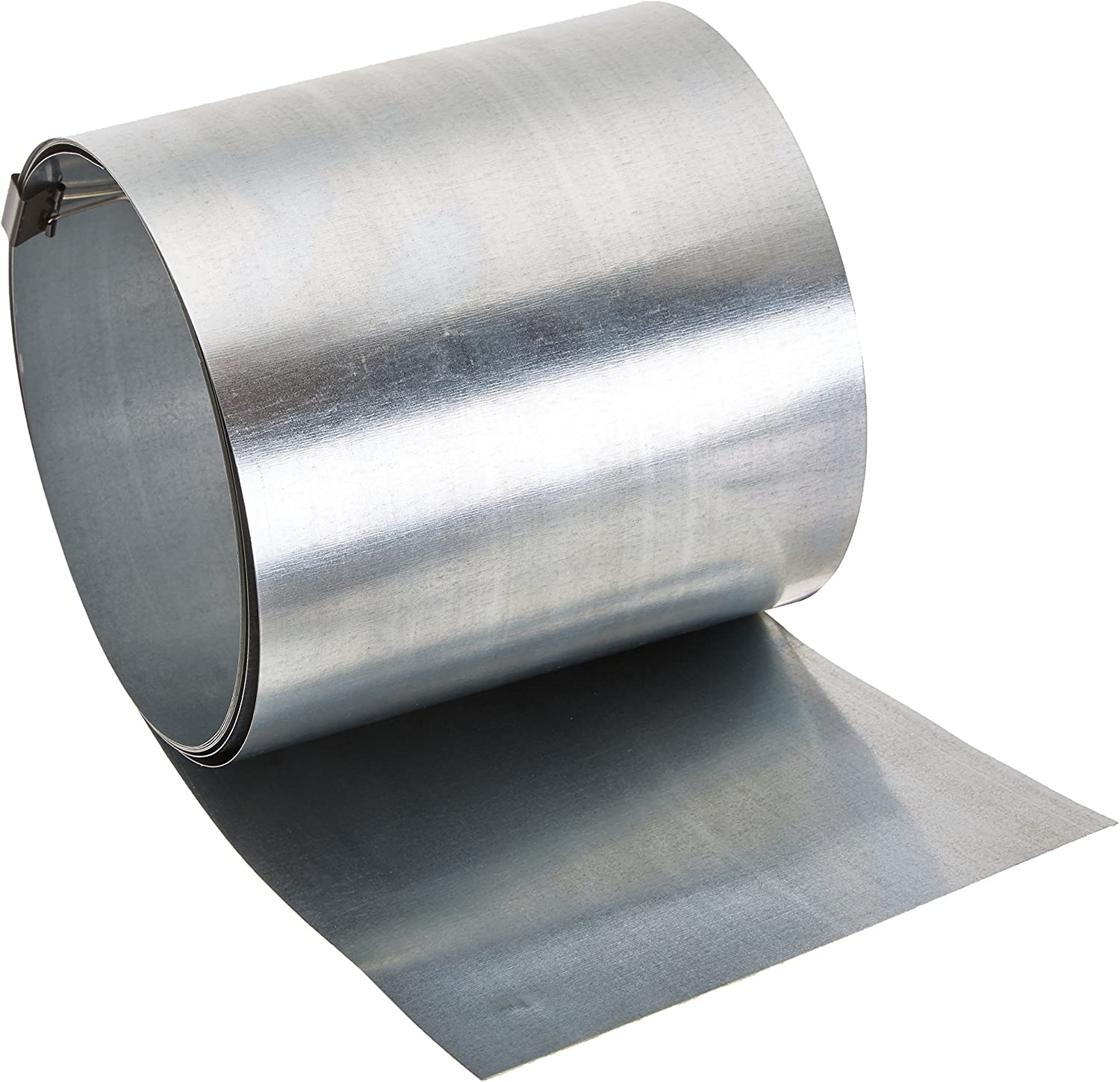 AMERIMAX HOME PRODUCTS 70406 6-Inch x 10-Feet Galvanized Flashing