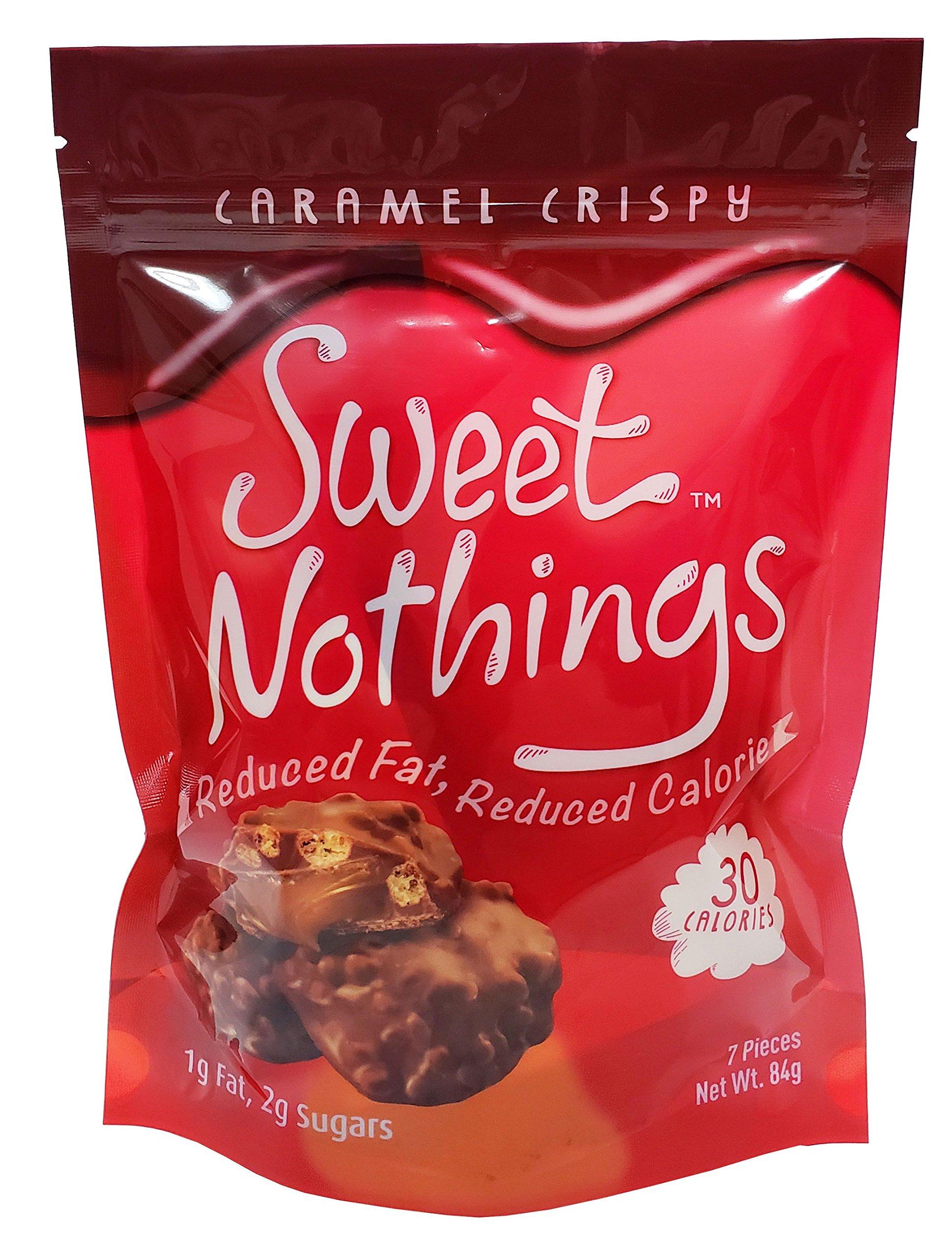 Sweet Nothings Cookies, Caramel Crispy, 84 Gram (Pack of 6) by Sweet Nothings