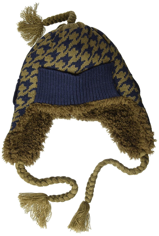 0ff7d0a697b Amazon.com  MUK LUKS Men s Cuffed Trapper Hat-Dark Blue