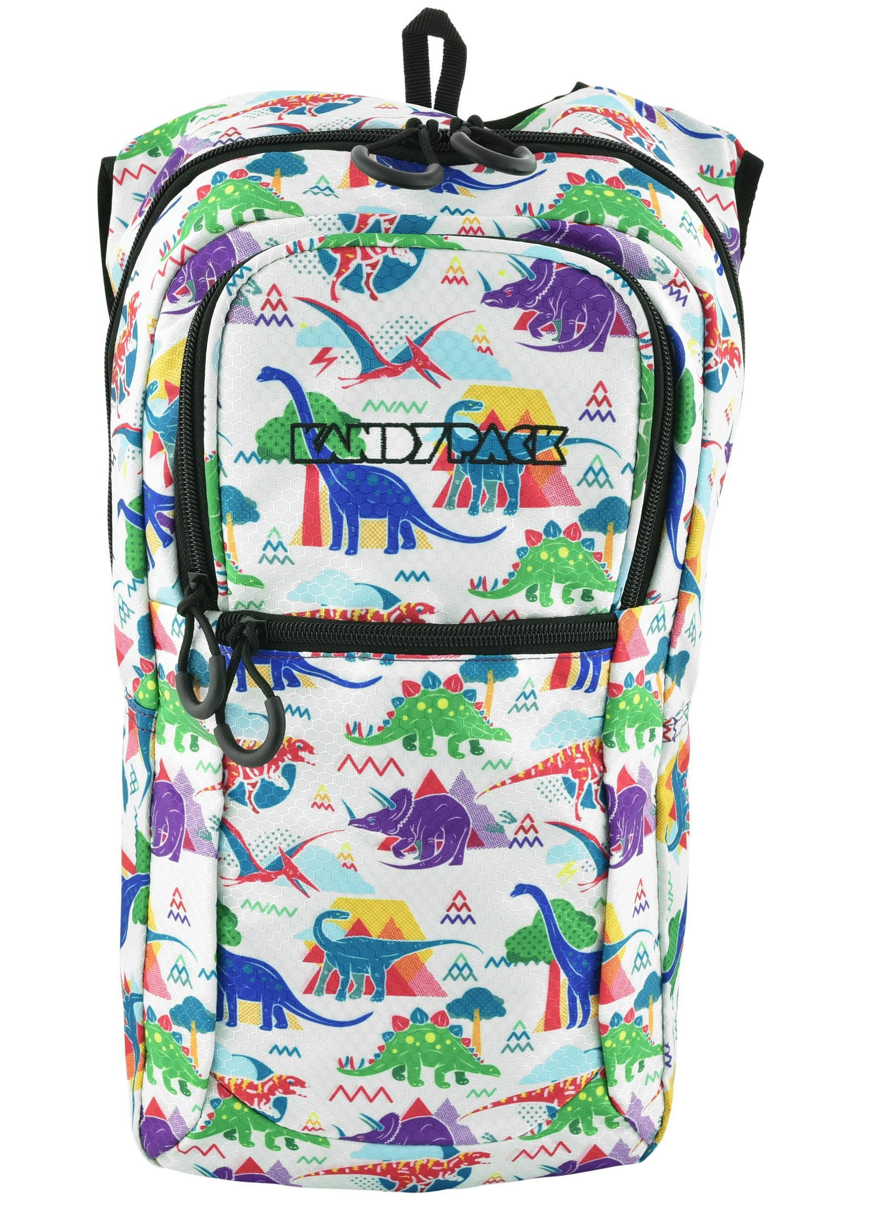 KANDYPACK Rave Hydration Pack Backpack with Water Bladder Teal Holographic