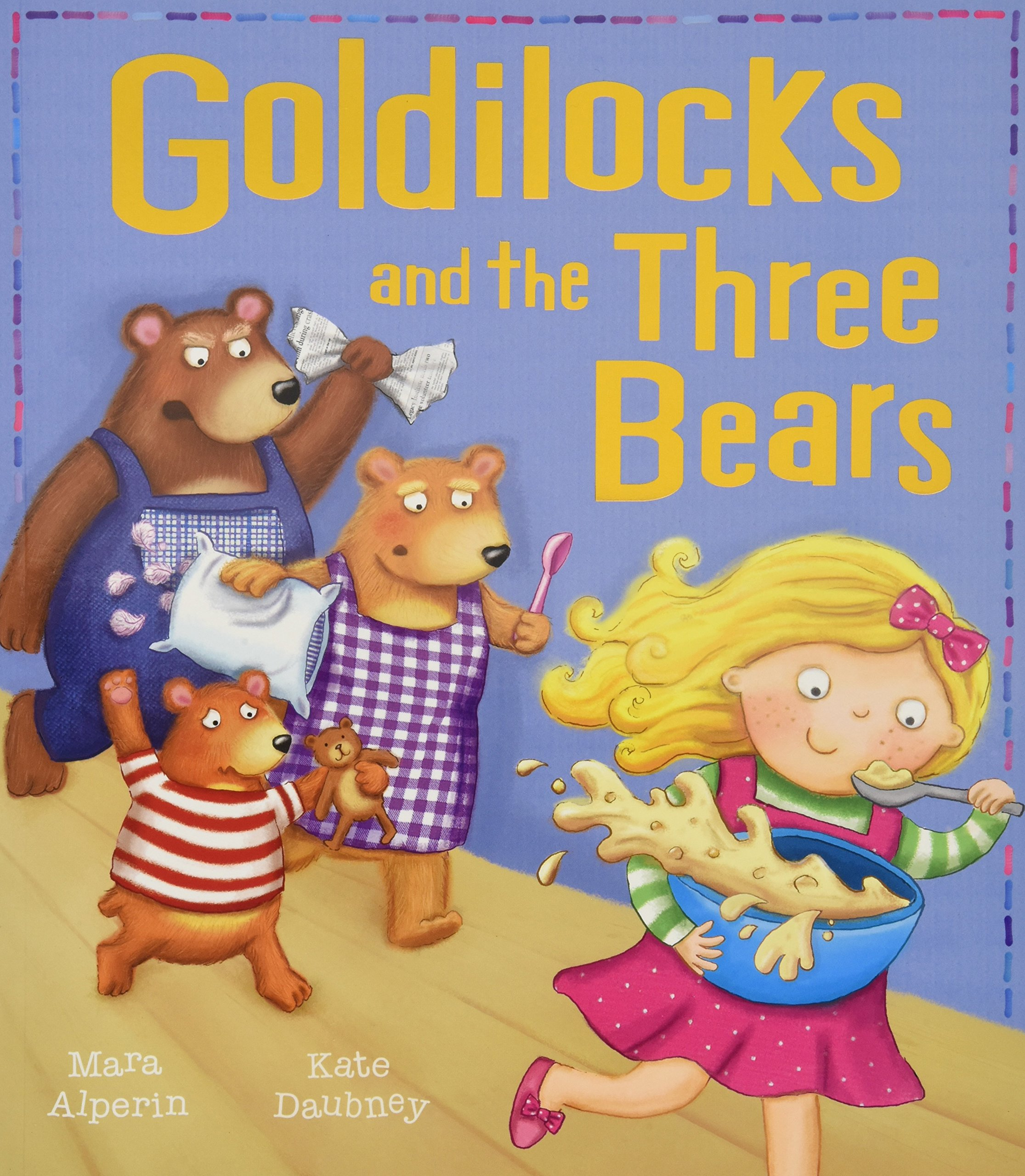 Image result for goldilocks and the three bears