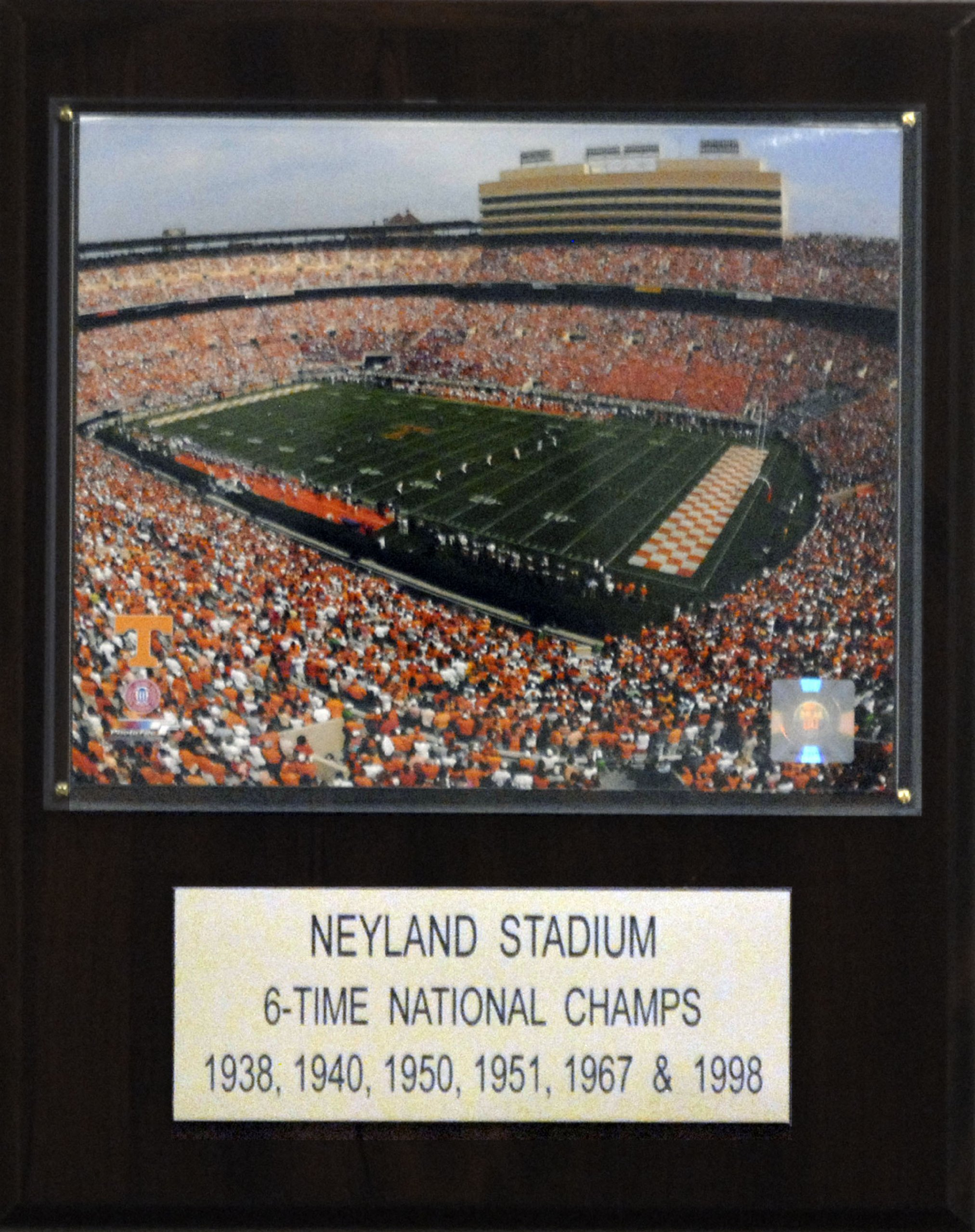 NCAA Football Neyland Stadium Stadium Plaque