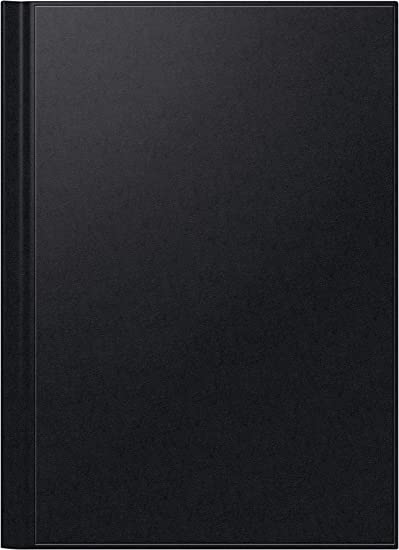 Brunnen 1078160 Buchkalender Modell 781, 2 Seiten = 1 Woche, 210 x 297 mm, Balacron-Einband schwarz, Kalendarium  2019