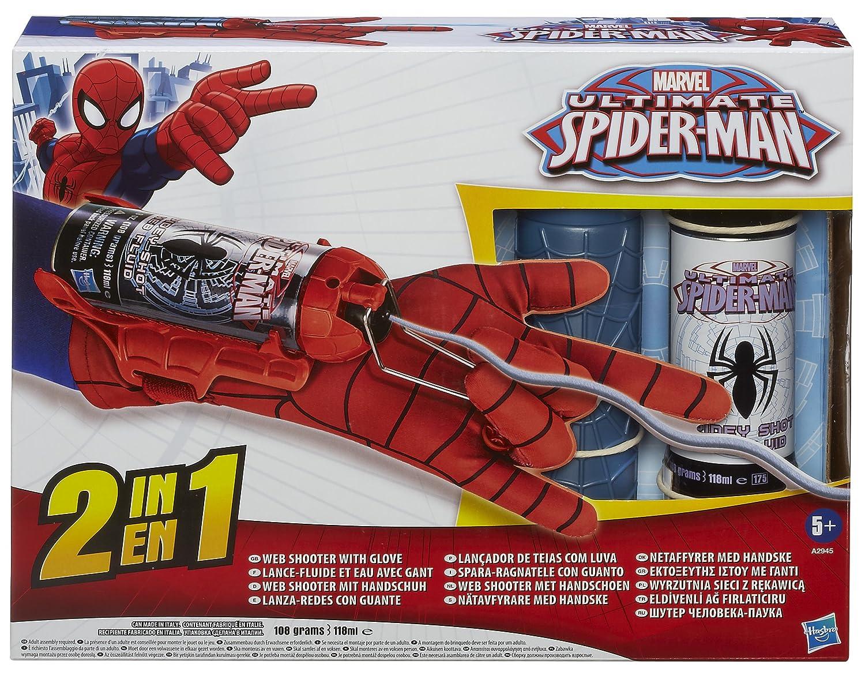 Marvel Spiderman - Mega Lanza telarañas y Guante (Hasbro ...