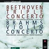 Beethoven : Triple Concerto & Brahms : Violin Concerto