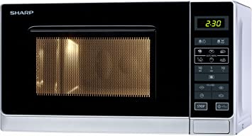 Amazon.com: Sharp R-242(in) W - Microwave Oven ...