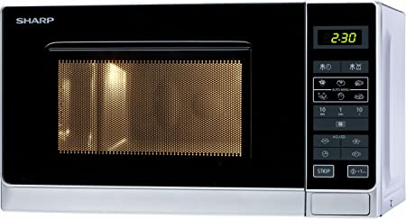 Amazon.com: Sharp r-242 (en) W – Horno microondas ...