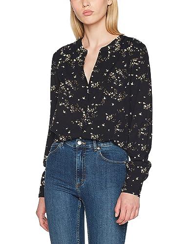 Only Onlnova Button Shirt AOP Wvn, Blusa para Mujer