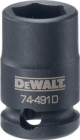 DEWALT 1//2 6 PT Standard Socket 12MM DWMT86512B