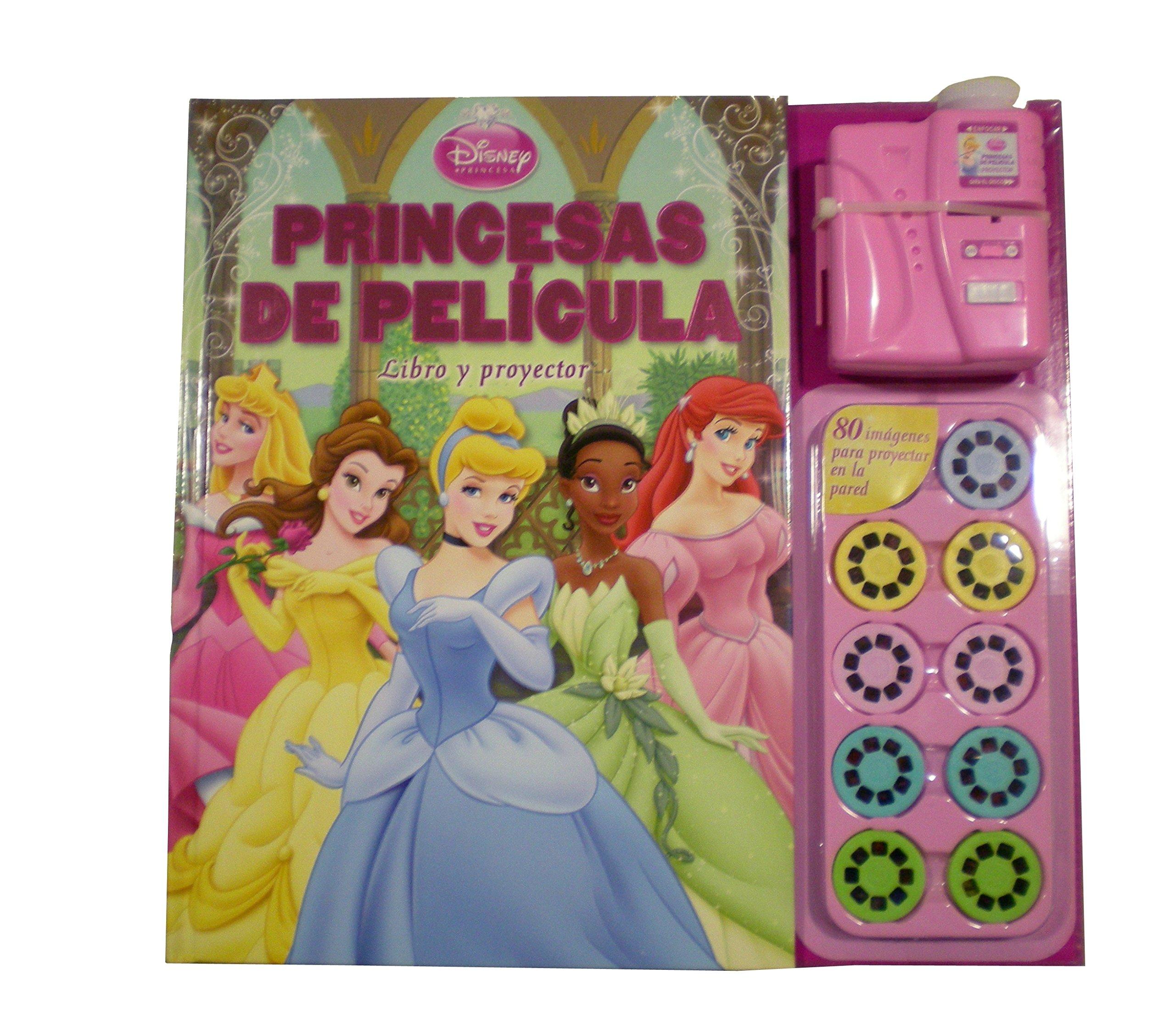 Princesas de película. Libro y proyector: Disney ...