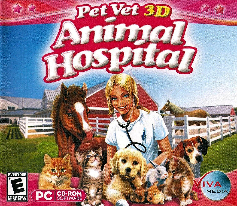 Amazoncom Pet Vet 3d Animal Hospital Video Games