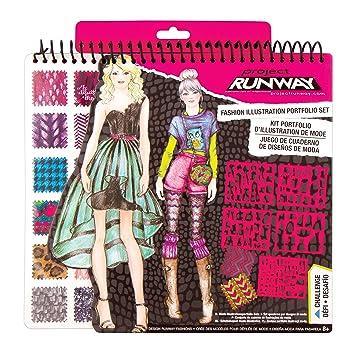 Amazoncom Fashion Angels Project Runway Portfolio Toys Games