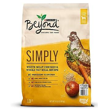 Purina Beyond Comida para gatos seco natural, para carne de pollo y todo tipo de harina de avena, bolsa de 13libras: Amazon.es: Productos para mascotas