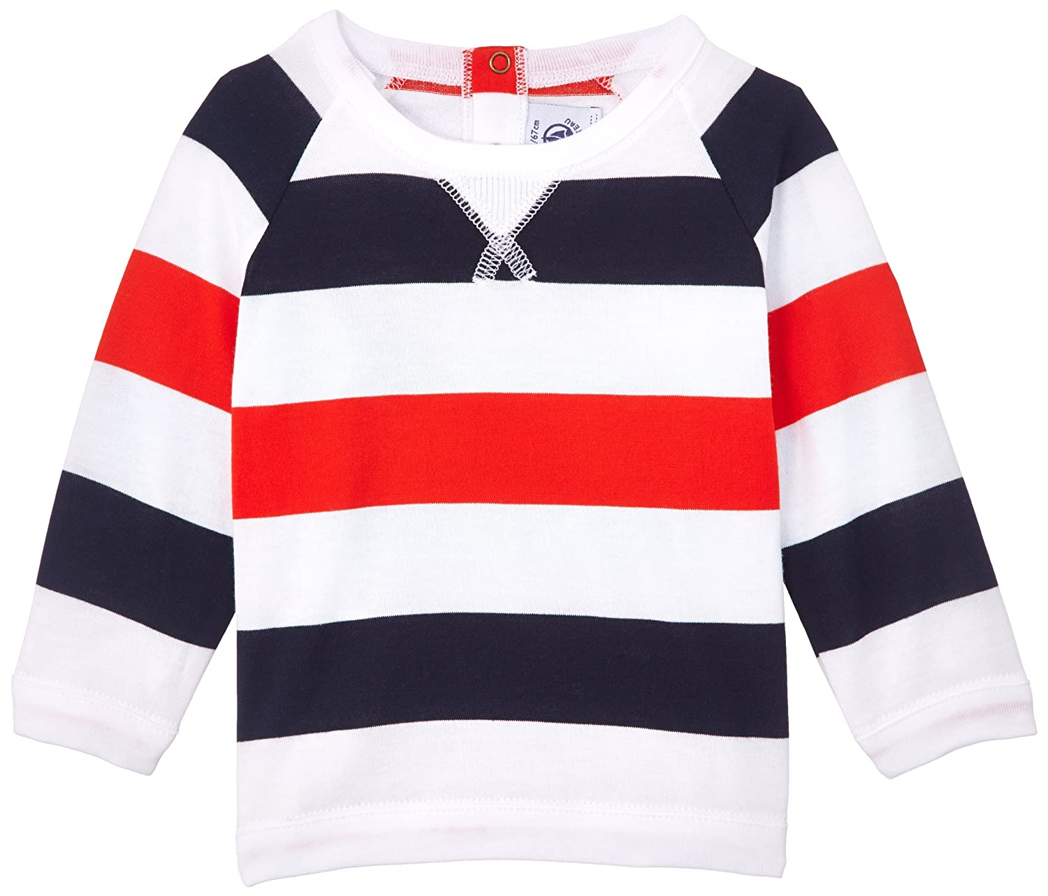 Baby Petit Bateau Baby Boys Flop Striped Pullover