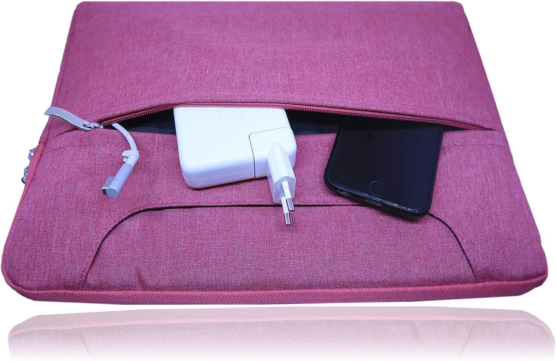 compatible avec ordinateur Macbook Pro et Air//iPad Pro 12,9 Sac bandouli/ère type housse rembourr/ée Notebook//ordinateur portable et tablette Sacoche pour ordinateur portable 13,3