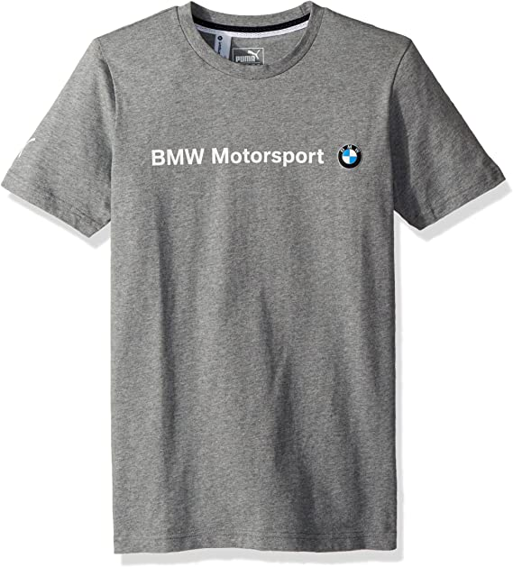 PUMA Herren BMW MSP Logo Tee T Shirt