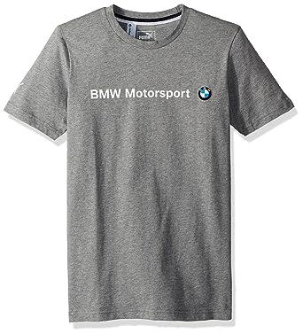 aaae2b26 Puma Men's BMW Motorsport Logo T-Shirt, Medium Gray Heather, ...
