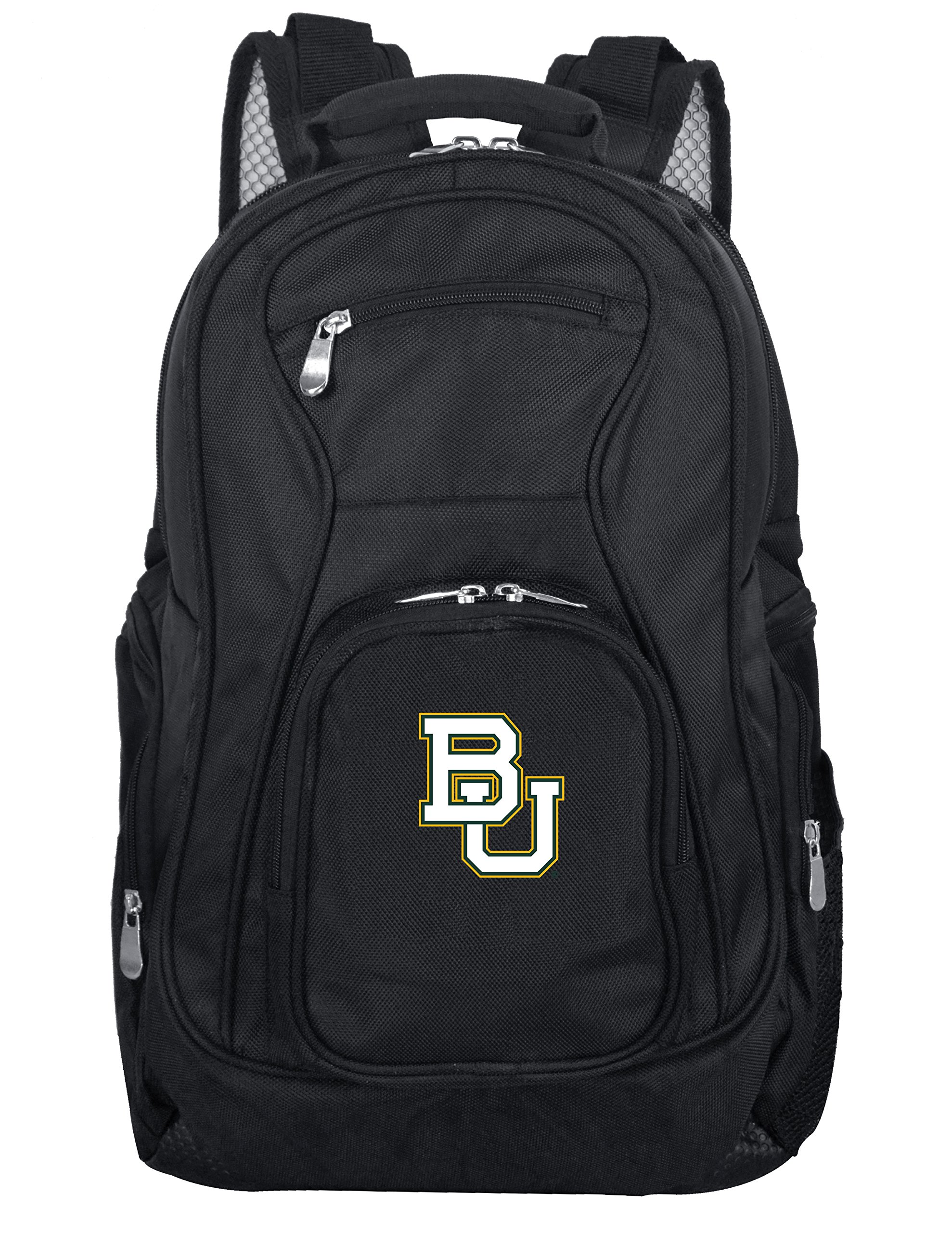 Denco NCAA Baylor Bears Voyager Laptop Backpack, 19-inches, Black