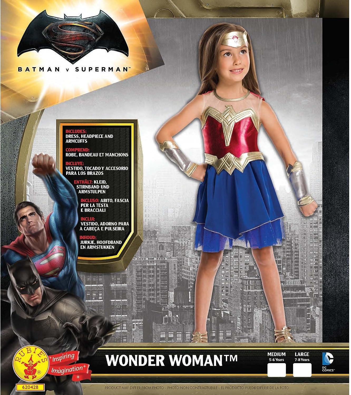 Rubies La Mujer Maravilla - amanecer de Justicia - Childrens Disfraz ...