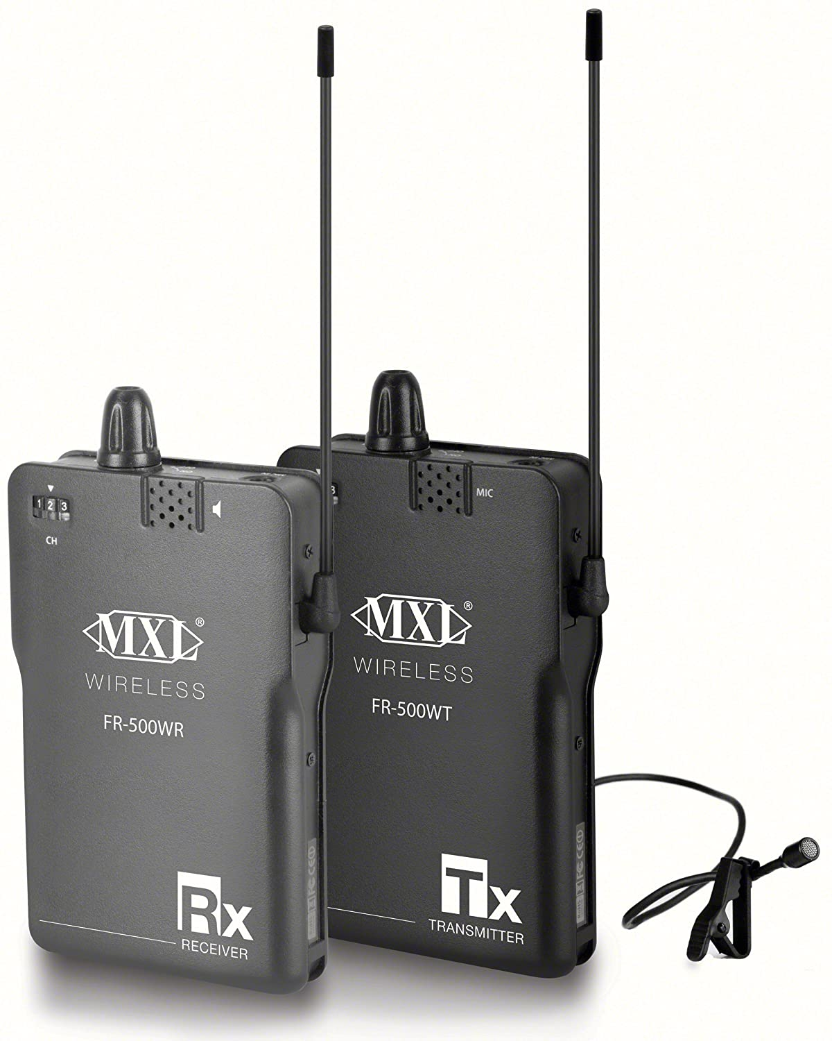 Amazon.com: MXL MicsFR-500WK Professional Portable Wireless Audio ...